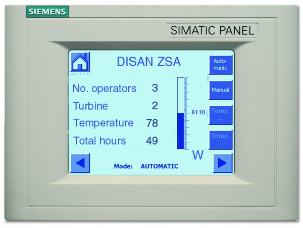 Siemens Control Display IE280