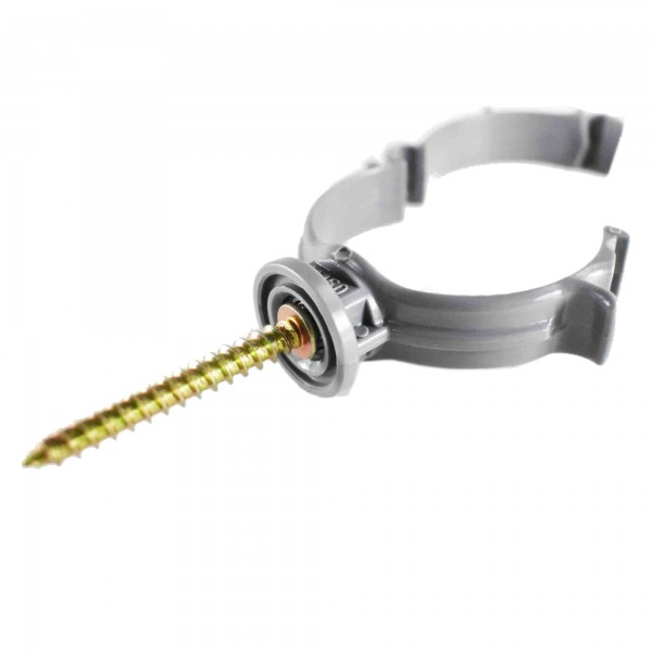 PVC pipe collars with blocking system KM701